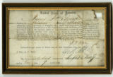 Oath of allegiance of James P. Byrne, Co. K, 17th Tenn. Inf. Regt., CSA
