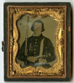 Ambrotype of a unidentified soldier