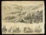Fort Donelson print from Charles N. Barstow scrapbook