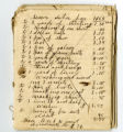 Store ledger of Thomas Forkner