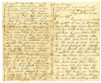 Letter of Alonzo Swift, Co. E, 137th N.Y. Inf. Regt., USA