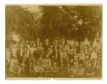 Photograph of Lawrence County Confederate veterans reunion