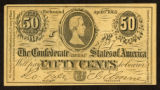 FacsimileConfederate Fifty Cents