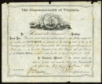 Commonwealth of Virginia military commission