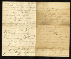 Union soldier correspondence of Cyrus Clark