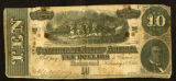 Confederate $10 bill