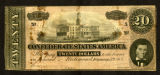 Confederate $20 bill
