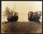 Photograph of Sultana monument in Knoxville cemetery