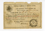 Certificate of release of POW for William H. Croushorn