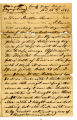 J. G. Decker letter to brother from Camp Wood
