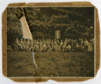 Photograph of Confederate veterans of Forbes Bivouac