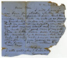 Letter from Gustavus Adolphus Henry, Jr., to his mother