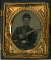 Tintype of Thomas Stewart