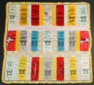 71st Ohio Vol. Inf. hand-made reunion ribbon pillowcase