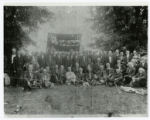 Confederate reunion photograph