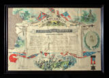 Confederate Soldiers Association certificate