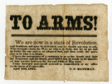 """To Arms!"" broadside"