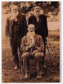 Image of Confederate veterans Thomas Simpson Cooper, Alfred T. Cooper, and L. Bruce Cooper