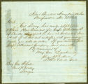 Letter from Gen. Breckinridge, through his adjutant Lt. Col. Buckner, to Gen. Wheeler