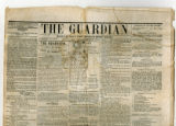 A copy of The Guardian newspaper, published in Columbia, Tennessee