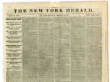 NY Herald newspaper reporting military operations of 1863