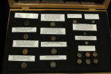 Civil War button collection