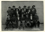Photograph of reunion of Unicoi County Civil War veterans