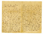 Letter from John A. Crutchfield to Mrs. L. M. Crutchfield describing Forrest's 1864 actions in...