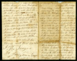 Letter from John Wesley Teague to his wife