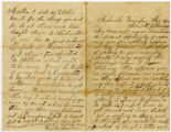 Letter from Cpl. Henry Marshall Misemer, Co. F, 3rd Tenn. Cav. Regt, USA, to wife Martha
