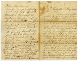 Letter from Cpl. Henry Marshall Misemer, Co. F, 3rd Tenn. Cav., USA, to wife Martha