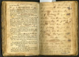 Snapp-Henley family record handwritten inside of The Christian Catechism