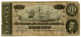 Confederate twenty-dollar note