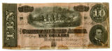 Confederate ten-dollar note