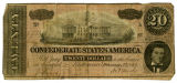 Confederate $20 note