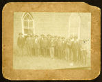 Photograph of East Tennessee Union veterans at reunion