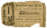 Records from Confederate Iron Works