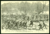 Engraving of Battle of Stones River