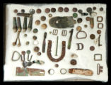 Collection of Civil War relics