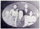 Photographic reprint of Alfred Mathews Cleveland and family