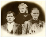 Photographic reprint of Elvin Parker family