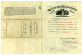 Certificate of pension for Emmaline Jackson