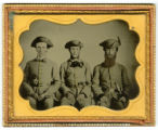 Three Confederate soldiers from Mississippi
