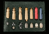 Civil War cartridges and bullets