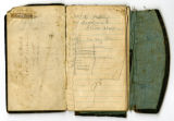 Personal record book of Capt. P. V. H. Weems, Co. H, 11th Tenn. Inf., with his last will and...