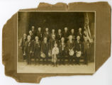 Photograph of Grand Army of the Republic (GAR) Union veteran's reunion