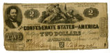 Confederate $2 bill