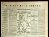 "New York Herald account of ""Bragg's Strategic Position in Tennessee"""