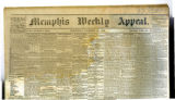 Memphis Weekly Appeal newspaper, November 20, 1861 issue