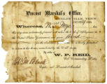 Oath of allegiance of William Talbert Myers